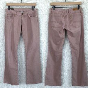 Pink Flare Jeans Lil Maggie Low Rise Lucky Brand